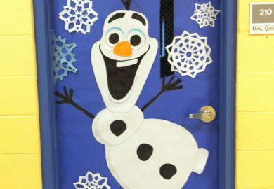 Door Decorating Contest Preschool Winter Theme