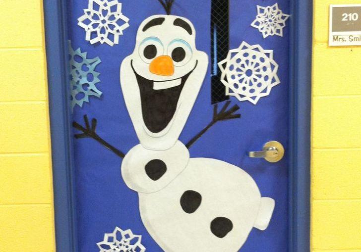 Door Decorating Contest Preschool Winter Theme