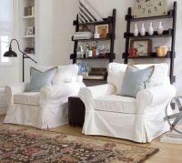 PB Basic Slipcovered Armchair