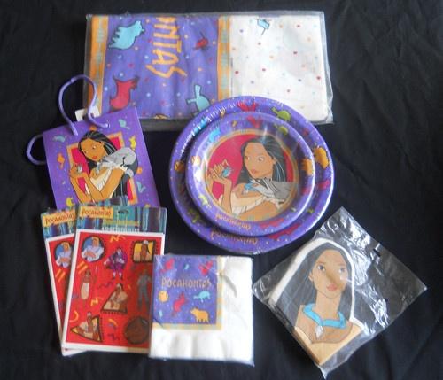 Decorations Party Pocahontas Disney