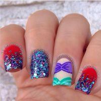 Little Mermaid Nail Designs | www.imgkid.com - The Image ...
