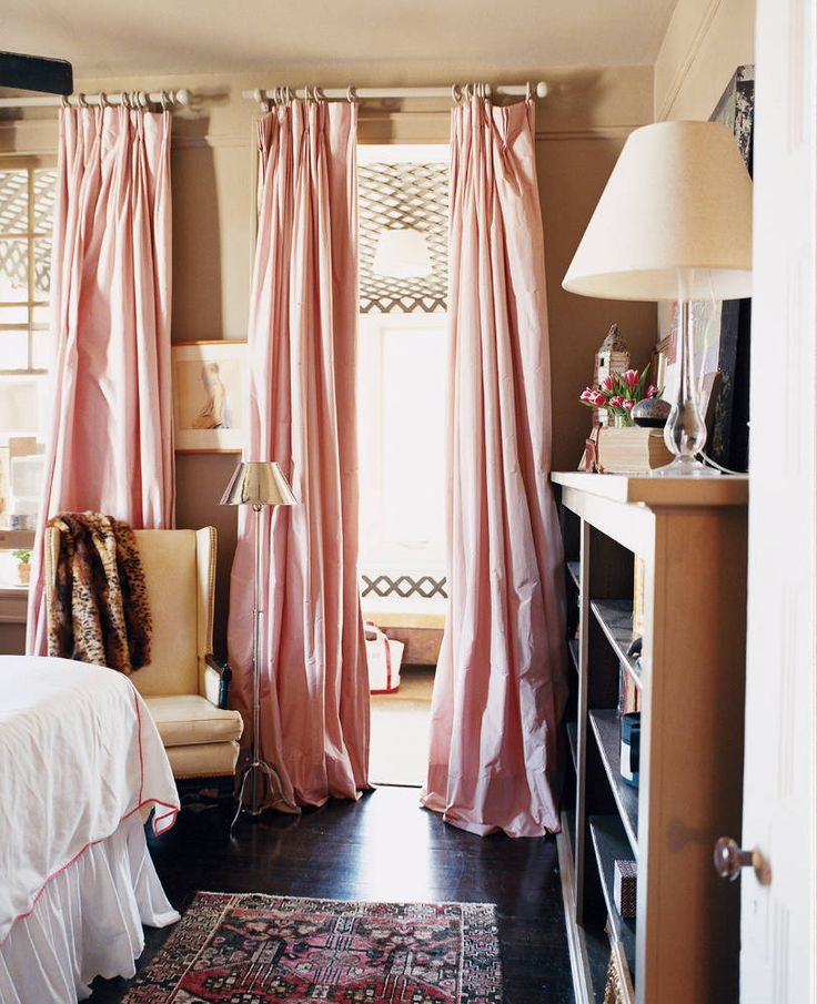 Floor length curtains  Of The Home  Pinterest