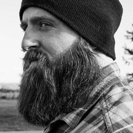 Barbe de hipster à bonnet