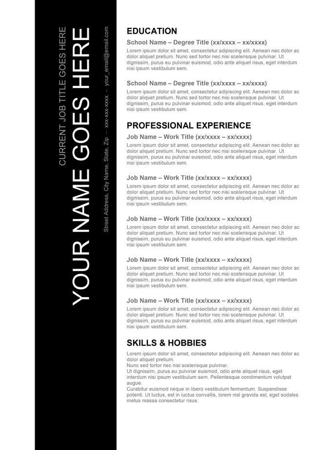 Maintenance Resume Template Free Build My Do My Resume How To Make