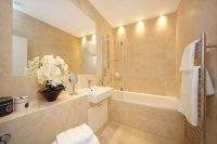 photo of beige bathroom | Bathroom ideas | Pinterest
