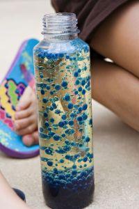 DIY Lava Lamp: chemistry for kids | summer camp | Pinterest