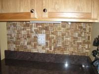 cork backsplash | For the Home | Pinterest