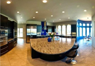 Kitchen Island Eating Area