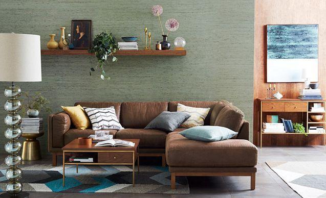 Plush  Polished Living Room  west elm  Living Room