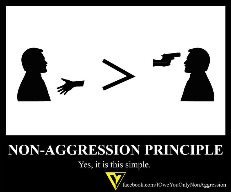Image result for non-aggression principle
