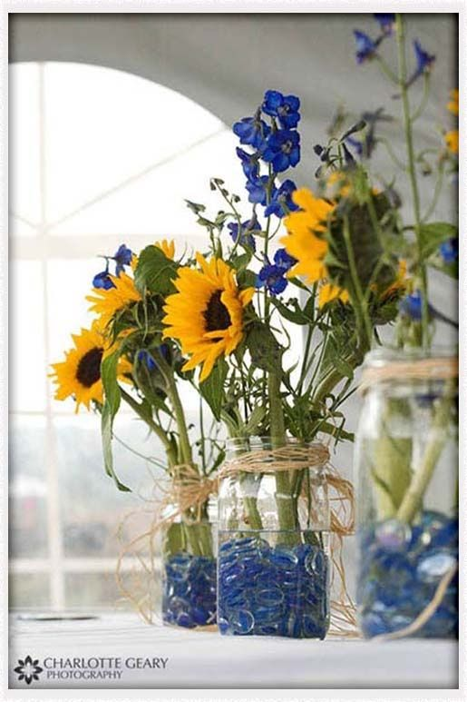 cobalt blue and yellow wedding – Google Search « Shopr Hub