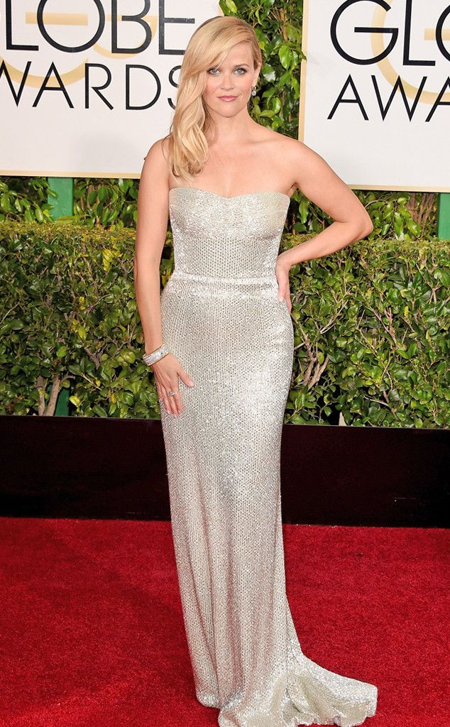 Reese Witherspoon from 2015 Golden Globes Red Carpet Arrivals | E! Online