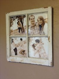 Old Barn Window Picture Frame