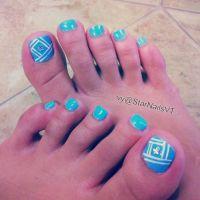 And Easy Toe Nail Design For Summer Nails Designs Nail Art ...