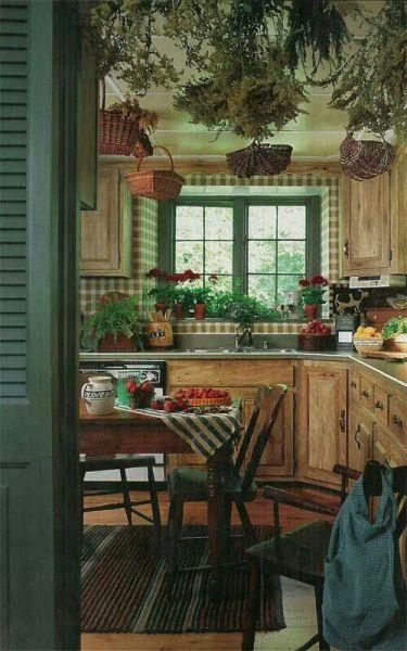 rustic farmhouse country kitchen Rustic farmhouse kitchen | Home | Pinterest