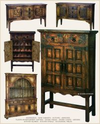 Rustic Spanish Hacienda Style Furniture | For the Home ...