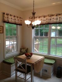 Kitchen nook seating! | The Kitchen is the Heart | Pinterest