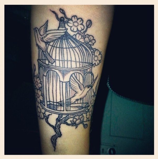 Open Bird Cage Tattoo Meaning