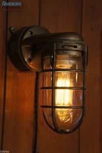 Vintage Industrial Explosion Proof Wall Lamp Sconce ...