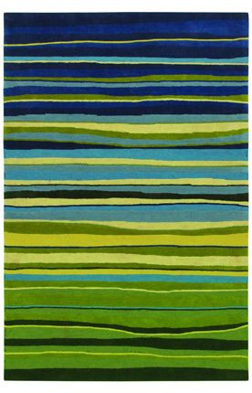 Shaw Loft Candy Stripes Green Rug $299