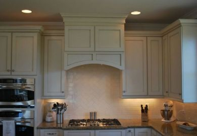 Kitchen Range Hood Cabinet