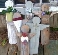 Rustic Garden Angels | Craft Ideas | Pinterest