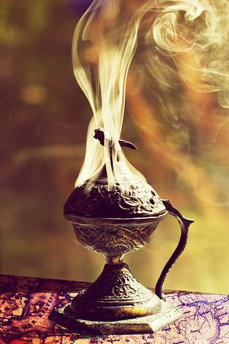 prayer like incense ascends to heaven
