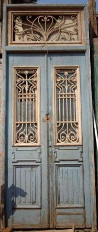 Antique French Door | Blue | Pinterest