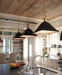 great old barnwood ceiling | Kitchen | Pinterest