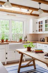 My first home: minimalist or rustic kitchen?