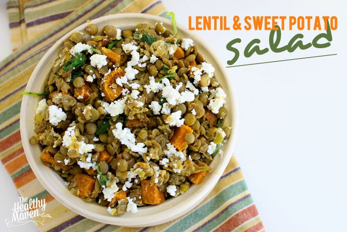 Lentil and Sweet Potato Salad