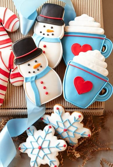 Southern Blue Celebrations Christmas Cookie Ideas