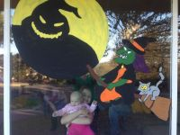 Halloween 2013 window painting | Window painting ideas ...