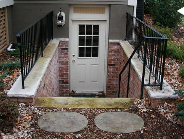 Basement outside entrance