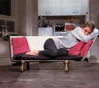 Holly Golightly really has a way with making herself and her apartment fabulous