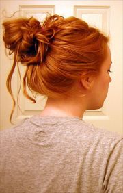 cute messy bun hairstyles