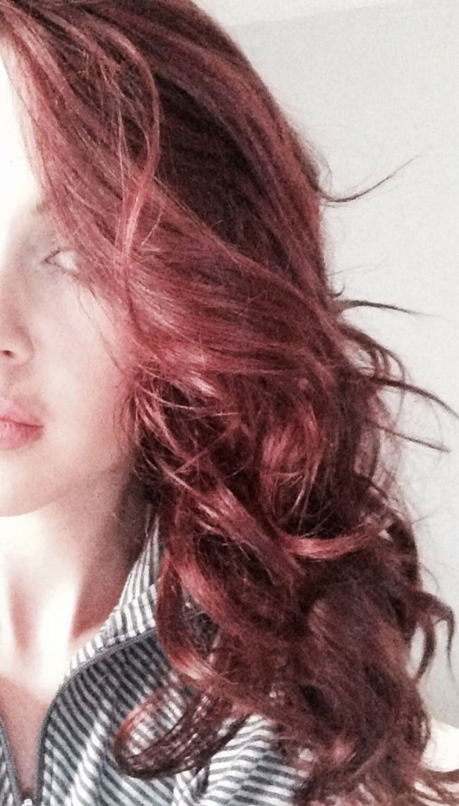 Cherry Cola Hair Color
