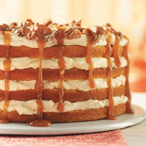 Pumpkin Torte Recipe from Taste of Home
