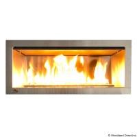 Outdoor Ventless Fireplace | Garden | Pinterest