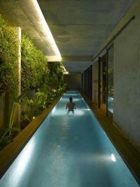 Indoor lap pool.. | Houses & Water | Pinterest