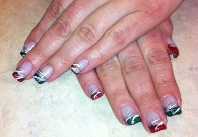 Images About Christmas Nail Art On Pinterest Nails