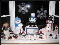 Christmas decorating - bay window | .Christmas & Winter ...