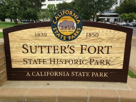 Sutters Fort Us Map