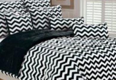 Amazon Black And White Chevron Comforter Twin