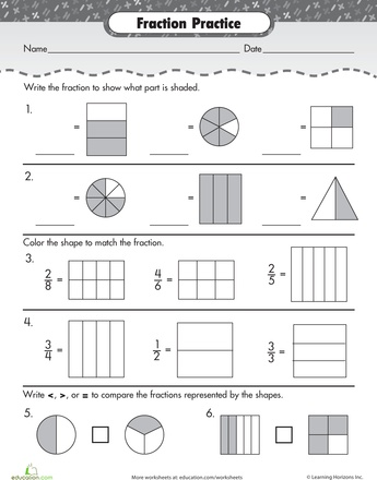 New 875 Fraction Worksheet Review  Fraction Worksheet