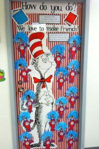 Teacher Blogspot: Dr. Suess Door Decoration