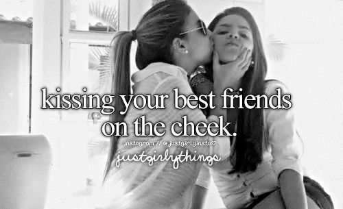Kissing Just Girly Things