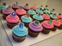 jewel cupcakes | Morgan's Birthday | Pinterest
