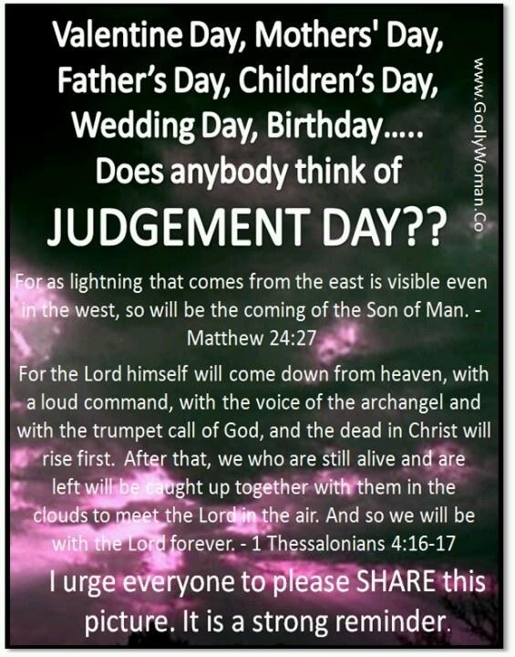 Judgement Quotes Bible