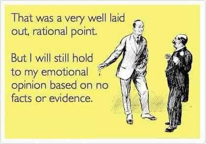 #rational #emotional #opinion #facts #evidence #democrats #obama